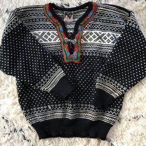 Dale ofNorway vintage wool pullover Nordic sweater